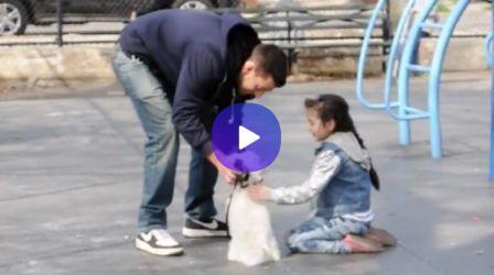 Schockvideo! So schnell vertrauen Kinder Fremden...
